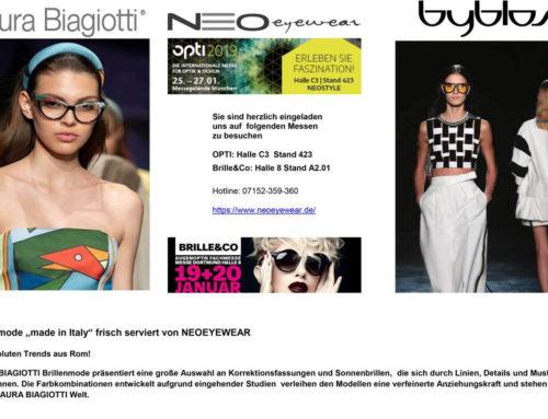 NEOEYEWEAR bei der Brille&Co und Opti München